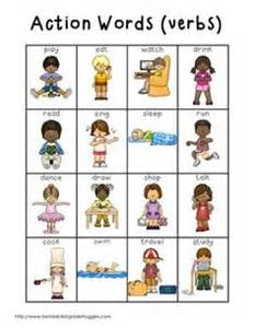 Kindergarten action verb worksheets verbs worksheets linking