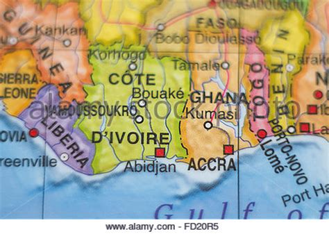 yamoussoukro africa map ivory coast political map cote d ivoire with capital