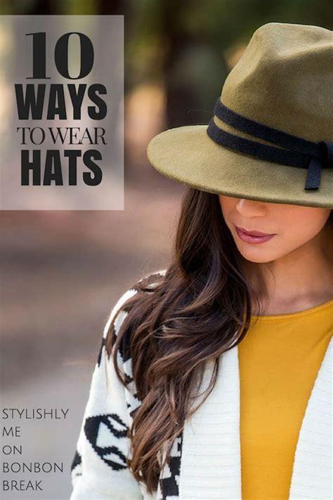 ways  wear hats great winter spring summer