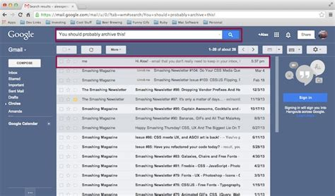 Email Gmail Search How To Keep Your Gmail Inbox Clean