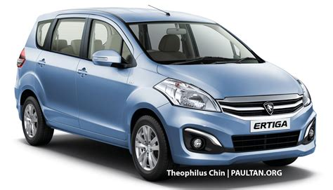 The Proton by Proton Suzuki Model To Debut In Oct Ertiga Mpv