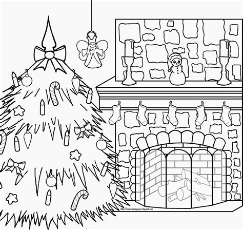 interactive coloring pages christmas
