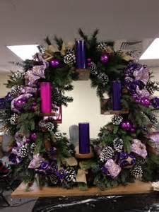Vertical advent wreath for altar advent pinterest