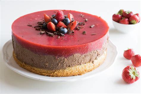 kuchen mousse au chocolat erdbeer mousse au chocolat kuchen eat vegan