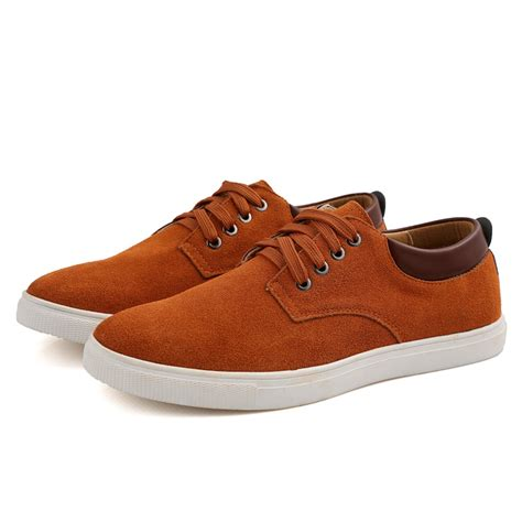 comfortable mens casual shoes men s suede leather comfortable casual shoes big size male