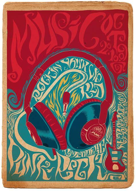 design poster music 70s logo design on pinterest concert posters music