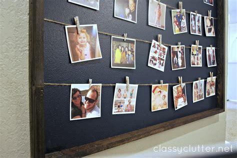 diy instagram photo wall display