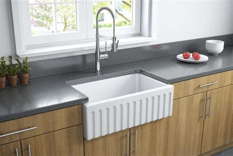 latoscana farmhouse sink installation fireclay kitchen sinks a 3 minute guide the kitchen