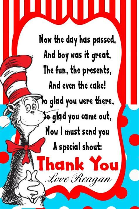 Dr Seuss Birthday Cards Thank You Dr Seuss Quotes Quotesgram