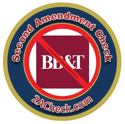 bb t boycott bb t bank second amendment check