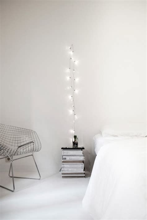 String Lighting For Bedrooms How To Use String Lights For Your Bedroom 32 Ideas Digsdigs