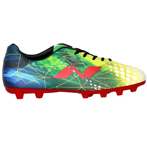 cost of football shoes nivia invader football shoes green and blue buy nivia