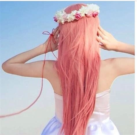 hairstyles color pink a really light pink hair color cute hair pinterest