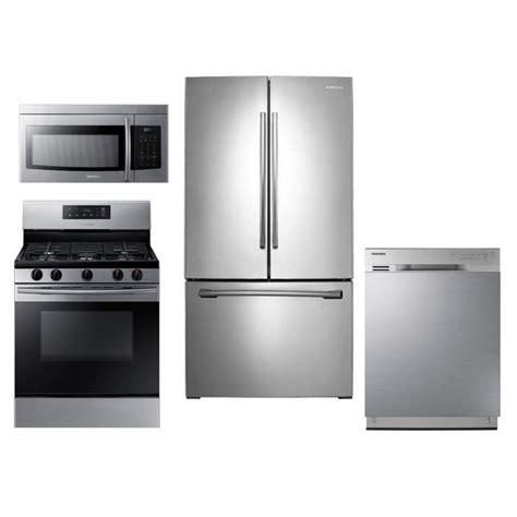 samsung appliances samsung 4 kitchen appliance package stainless steel rc willey furniture store