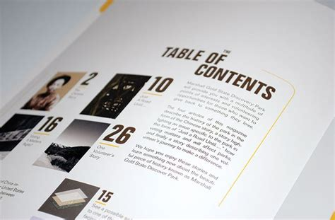 design inspiration table of contents table of contents commencement program pinterest