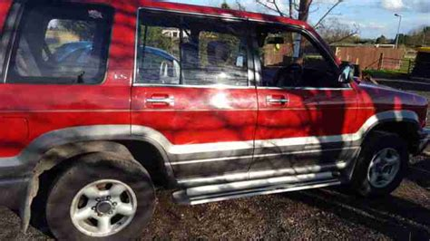 isuzu trooper 7 seats car for sale