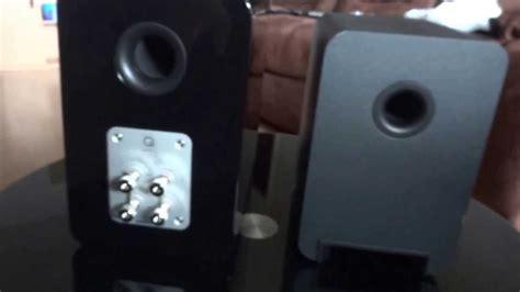 Q Acoustics 2010i Hitam Gloss q acoustics 2010i vs concept 20 speaker size