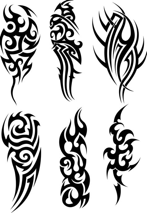 dark tribal tattoos tribal images designs