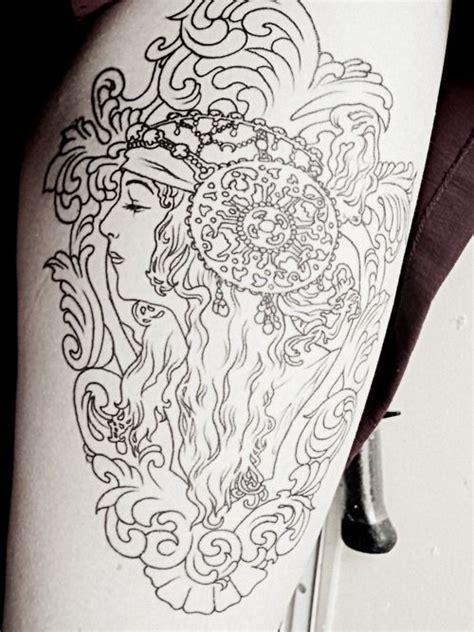 liberty tattoo atlanta 20 tatuagens diversas para inspirar voc 234 alphonse mucha