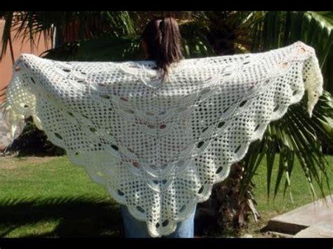 chales en crochet chales tejidos a crochet 1 176 video youtube