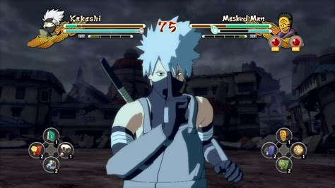 naruto ultimate ninja storm 3 masked man ps3 anbu kakashi vs masked man naruto ultimate ninja
