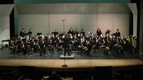 cmea bay section concert band quot when the stars began to fall quot at cmea 2012