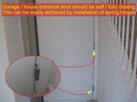 Door From Garage To House Code by Attached Garage Firewall Garage To Room Entrance