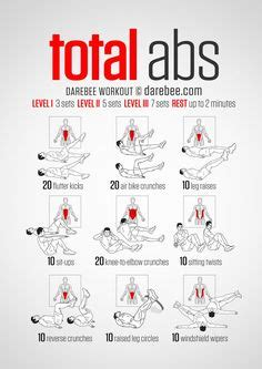 1000 ideas about ab workouts on abs exercise and cardio