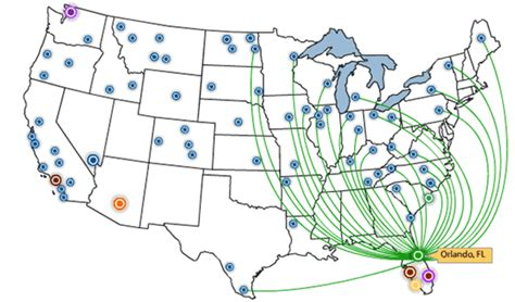 allegiant air route map allegiant air destinations related keywords allegiant air destinations keywords
