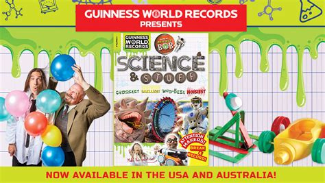 guinness world records science stuff books discover the grossest and noisiest records in guinness