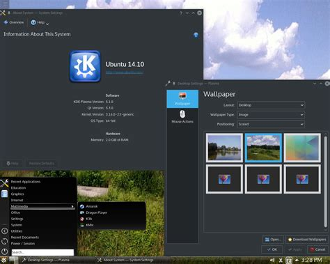 desktop themes kubuntu distrowatch com put the fun back into computing use