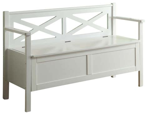 48 inch storage bench monarch specialties 4504 50 inch storage bench in white traditional indoor benches