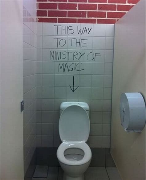bathroom magician ridiculous and profound life lessons from bathroom walls