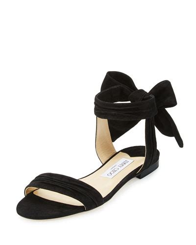 Wedges Ankle Black Preorder jimmy choo shoes wedge strappy sandals at neiman