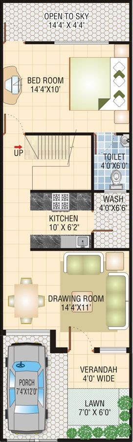 home design 15 x 50 15 x 50 house plans pictures to pin on pinterest pinsdaddy