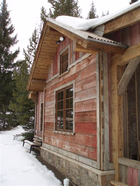 Cabin Siding Ideas - faded barnboard siding montana reclaimed lumber co