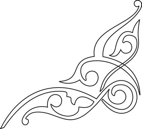 cara membuat ornamen hiasan pinggir kaligrafi suryalaya godebag kamaludin godebag