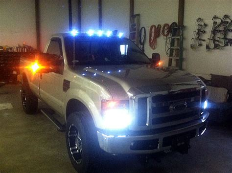 cab lights for ford f350 recon truck cab roof lights for ford recon smoked led