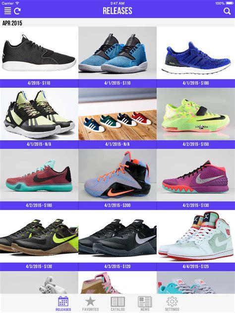 best sneaker apps app shopper sneaker crush release dates for air