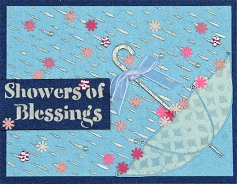 Shower Blessings by Remembering S Moments Dreamweaver Free Week A