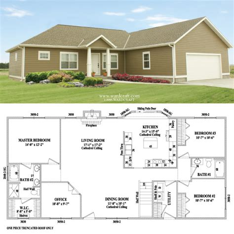 alexandria i modular home floorplan by wardcraft homes of