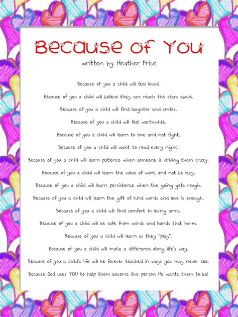 appreciation letter to daycare provider 8 best thank you quotes images on