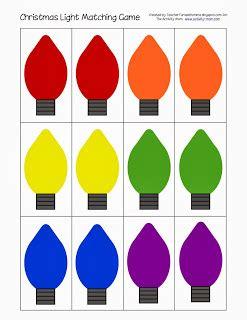 christmas lights pattern printable the activity light matching printable the activity