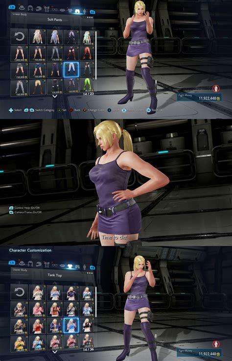 Raglan Asuka Kaos Tekken 7 Shirt tekken 7 williams ranger skirt mod by noonbob on deviantart