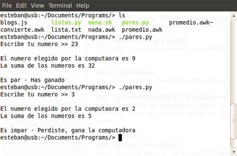 un poco de python 1 lenguajes de programaci 243 n n 250 mero aleatorio en python