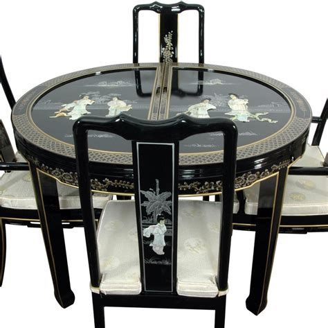 oriental dining room set 158 best images about mother of pearl inlay on pinterest