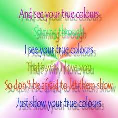 who wrote true colors printable wall quot you make me happy quot song lyric quote