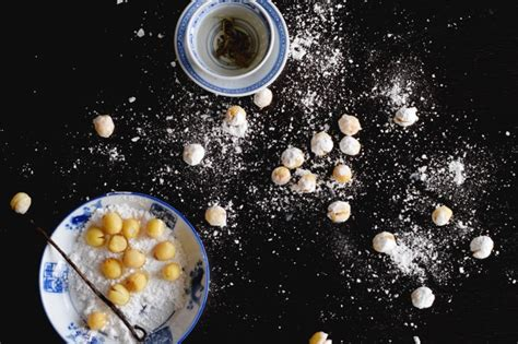 candied lotus seeds wandering gourmand the tray of togetherness
