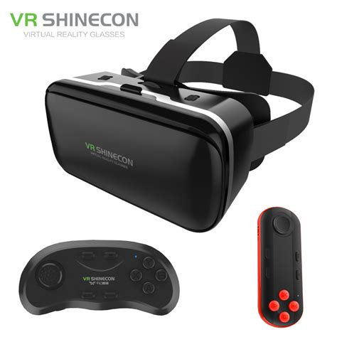 Shinecon 3d Vr Glass G 03 3 vr shinecon 6 0 improved cardboard reality 3d glasses headset headset