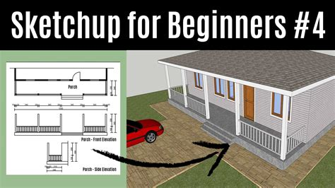 Tutorial Sketchup For Beginner | sketchup for beginners how to create your first 3d house